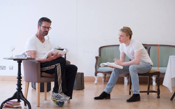 Rupert Everett and Freddie Fox