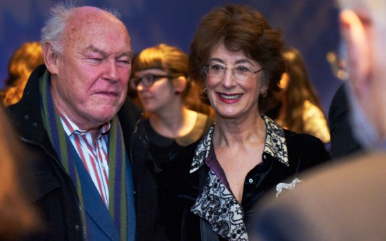 Timothy West and Maureen Lipman