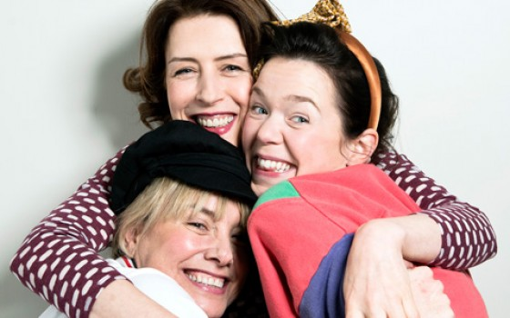 Anna Maxwell Martin, Gina McKee and Tamzin Outhwaite