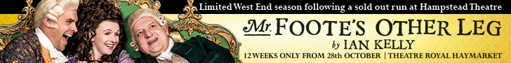 Mr Foote's Other Leg West End transfer